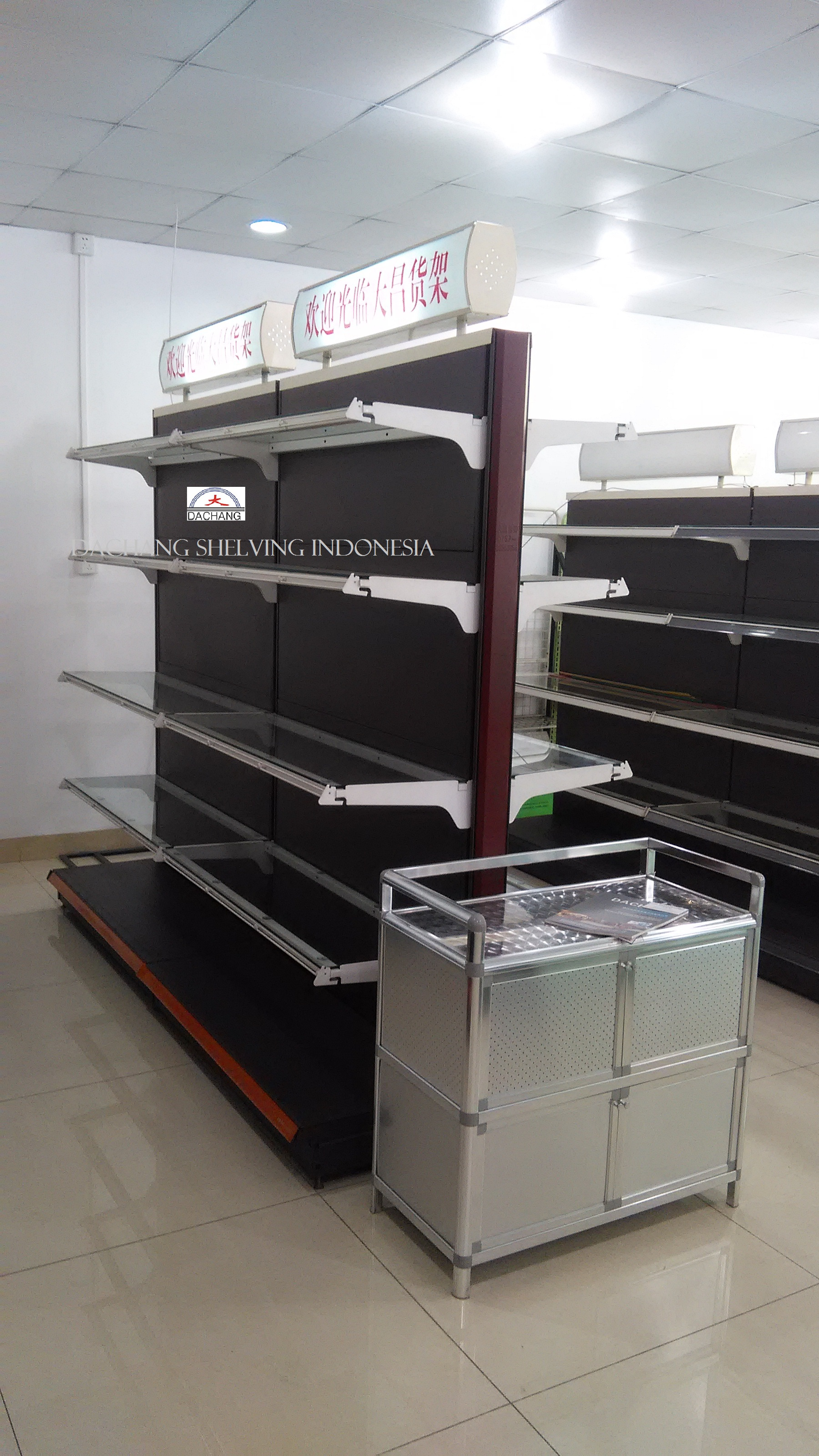 Rak DC-18 New Design Glass Shelves