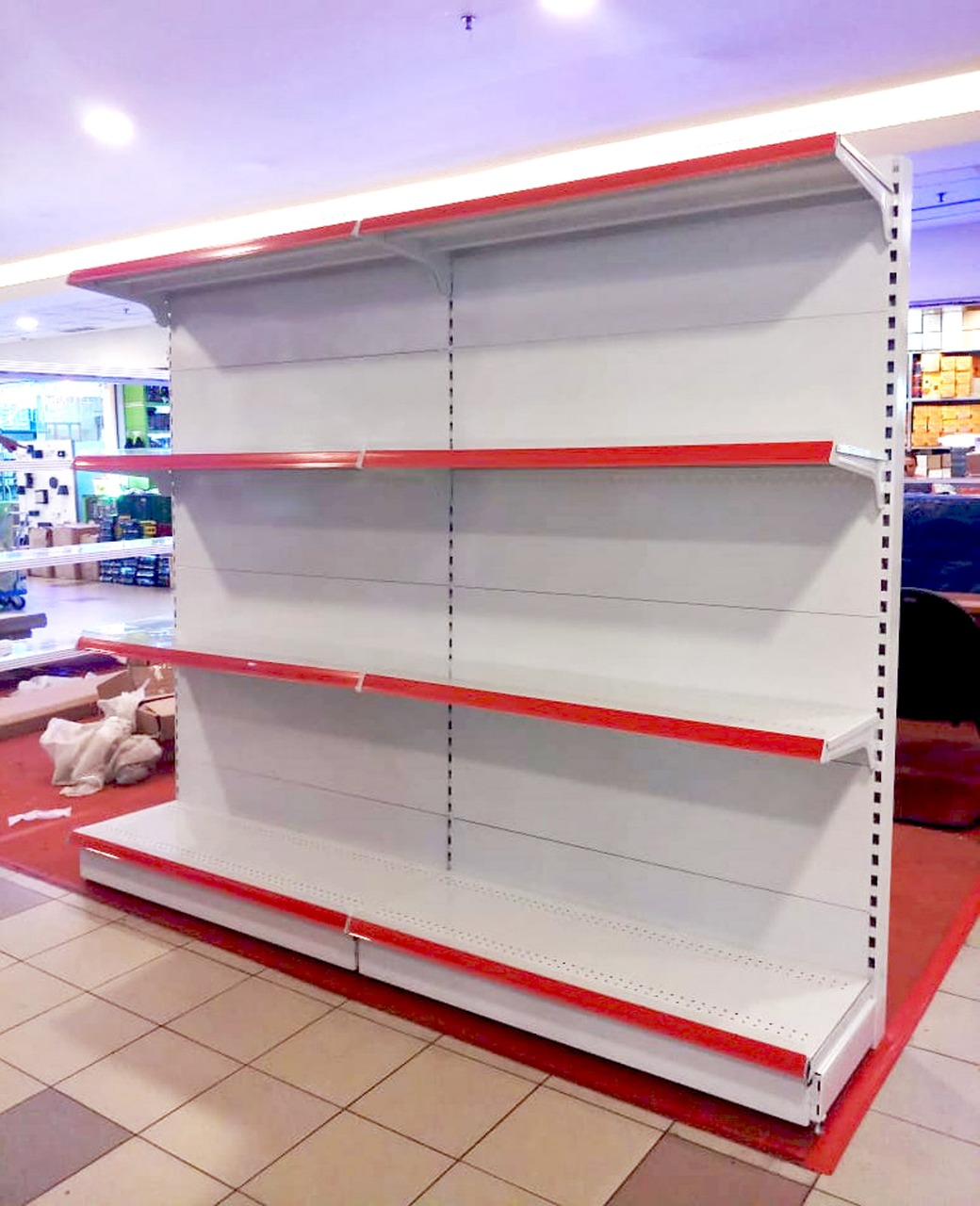 Rak Supermarket Back Panel DC-17